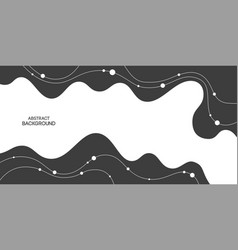 Abstract background poster banner composition vector