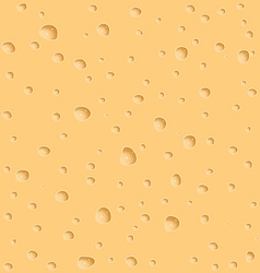 Cheese texture with holes vector