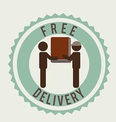Delivery service books vector