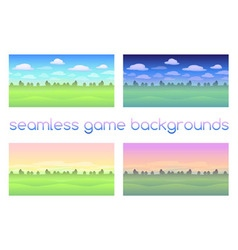 Game backgrounds vector