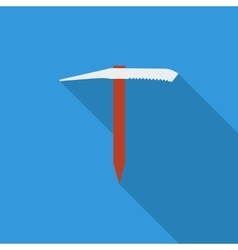 Ice axe vector image