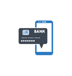 on payment related glyph icon vector image