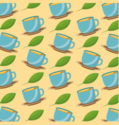 tea time realted vector image