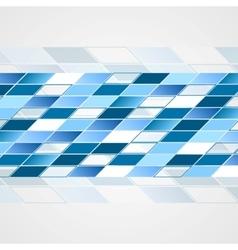 Tech blue background vector