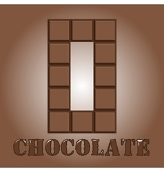 The number of bars chocolate zero vector