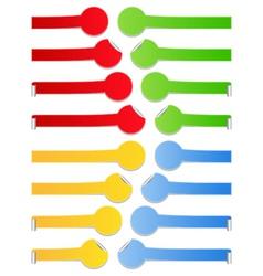 vector stickers vector image vector image