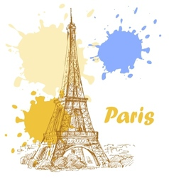 france background vector image