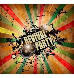 Club party flyer vector image