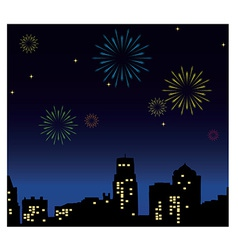 New Years Eve vector image vector image