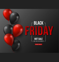 Black friday sale typographic design 3d stylized vector