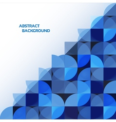 Blue geometrical abstract background eps 10 vector