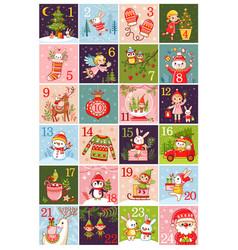 calendar 2018 collection vector image