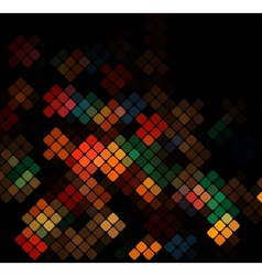 Dark colorful background vector image