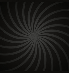 Gray and black spiral vintage vector