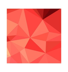 Portland Orange Abstract Low Polygon Background vector