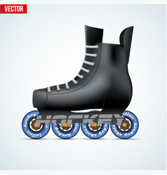 inline skating vector image