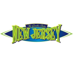 New Jersey The Garden State vector image vector image