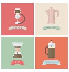 coffemethod vector image