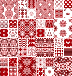 collection christmas backgrounds vector image