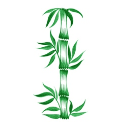 Decorative ornament bamboo vector