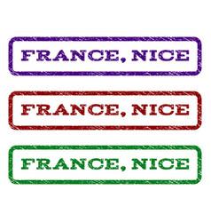 France nice watermark stamp vector