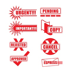 Priority Icons vector