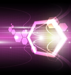dynamic abstract background vector image vector image