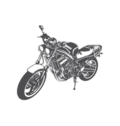 Sport motorcycle vector image vector image