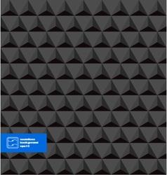 Dark Seamless Triangles Background vector image