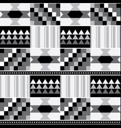african tribal kente mud seamless pattern vector image