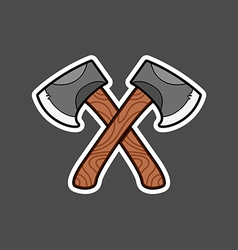 Axe graphic vector