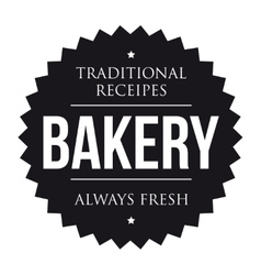 Bakery vintage black stamp vector