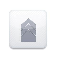 Bookmark arrow icon vector
