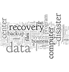 Choose a backup software for your data center vector