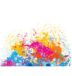 Element for design from paint stains vector