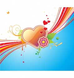 funky background vector image