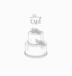 Wedding Cake Vector Images Over 14 000