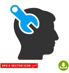 Head Neurology Wrench Eps Icon vector