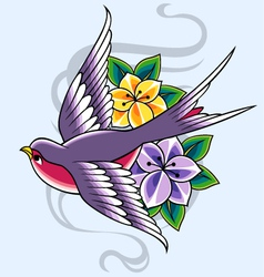 Swallow design vector