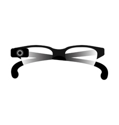 Vision glasses accessory vector