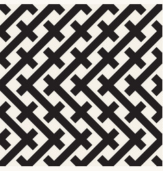 weave seamless pattern braiding background of vector image vector image