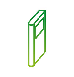 Book icon education knowledge learning lecture vector