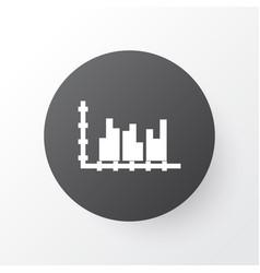 Grouped graph icon symbol premium quality vector