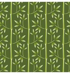 seamless bamboo wallpaper vector image
