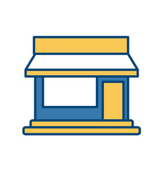 store building symbol vector image