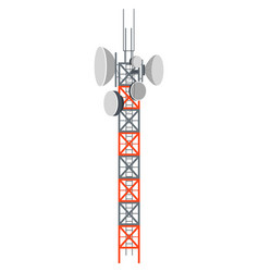 Broadcasting tower power station or signal vector