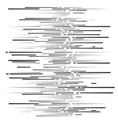Dashed irregular lines segment horizontal stripes vector