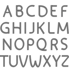 font Stock vector image