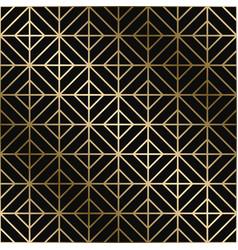 Geometric art deco pattern - seamless vector