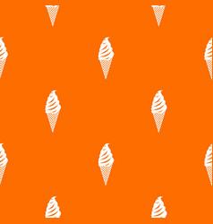 Ice cream pattern seamless vector